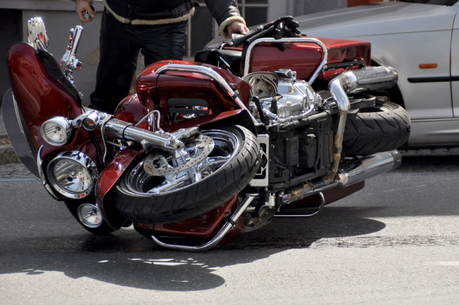 Can I file a motorcycle accident claim with no insurance