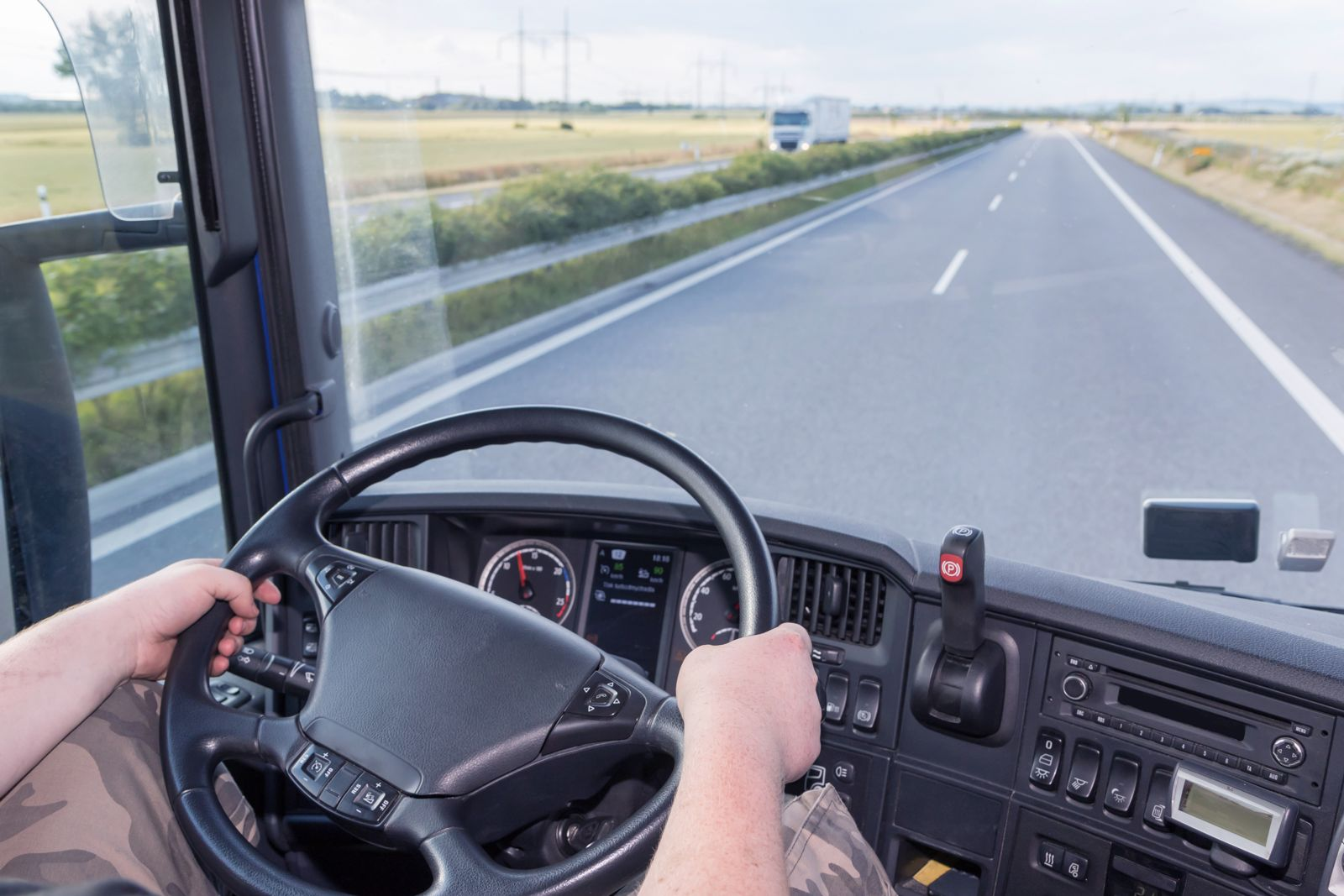 A poorly trained truck driver can cause accident.