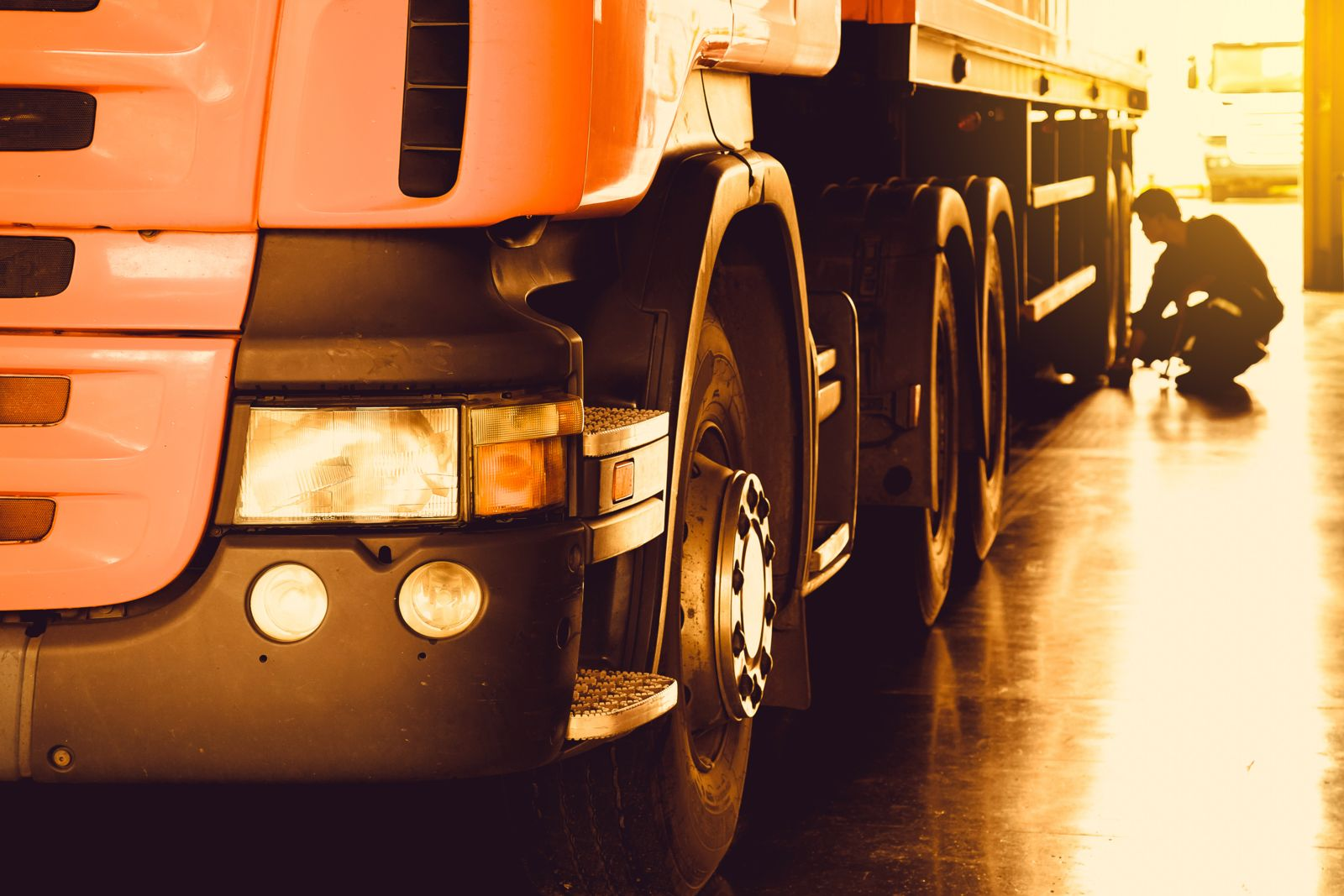Truck company inspection requirements.