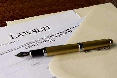 lawsuit filed