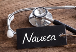 Nausea Tag With a Stethoscope