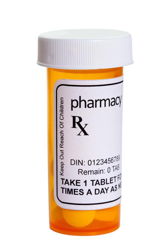 generic prescription bottle