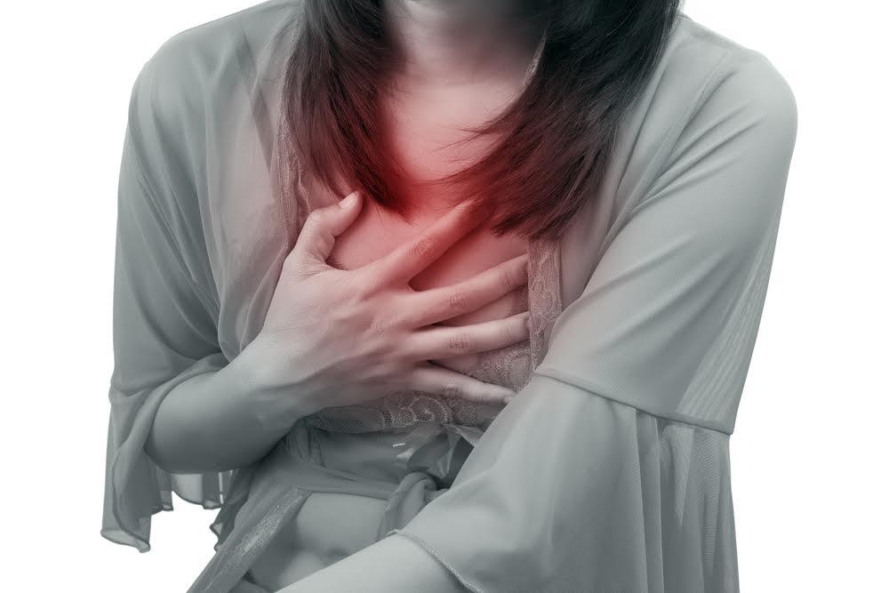 suffering heartburn