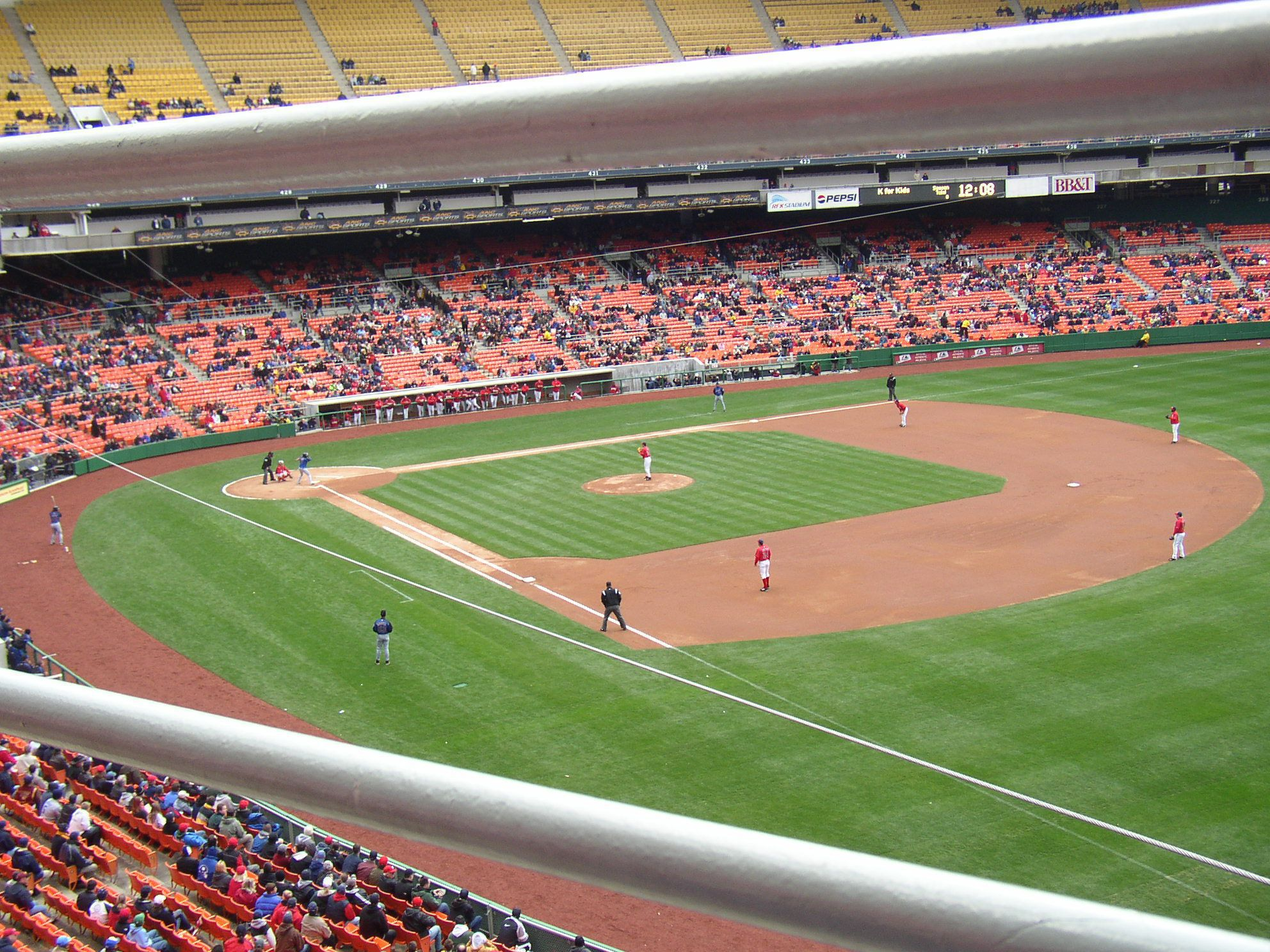 Baseball Returns to Washington, April 3, 2005