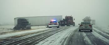 Black Ice Can Cause Truck and Car Accidents