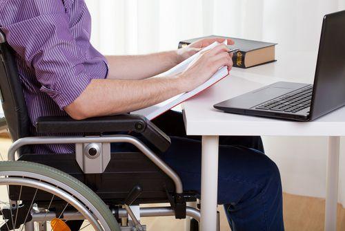 wheelchair worker