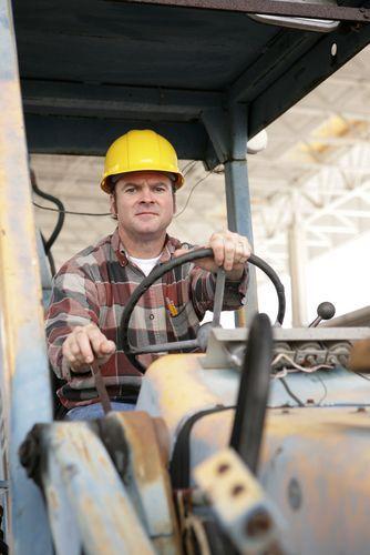 backhoe driver