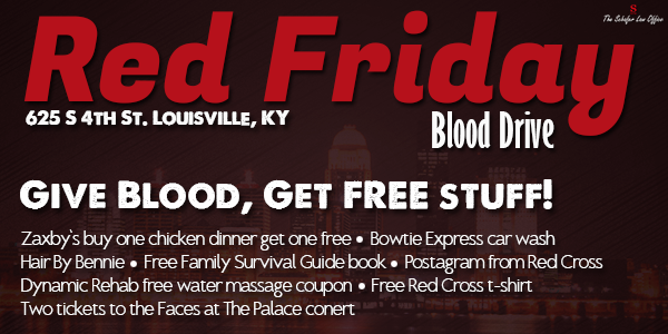 Red Friday Blood Drive