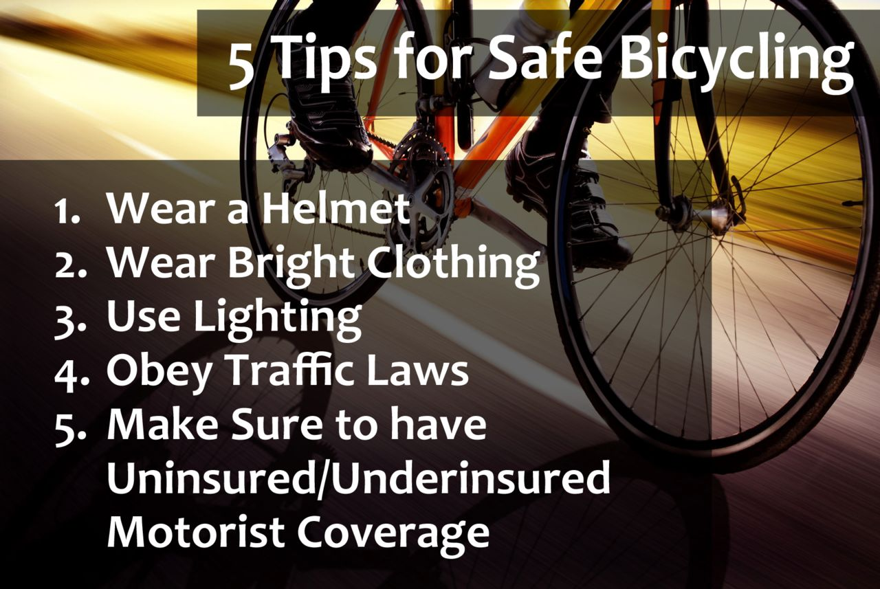 five tips to prevent bicycle accidents from your accident lawyers