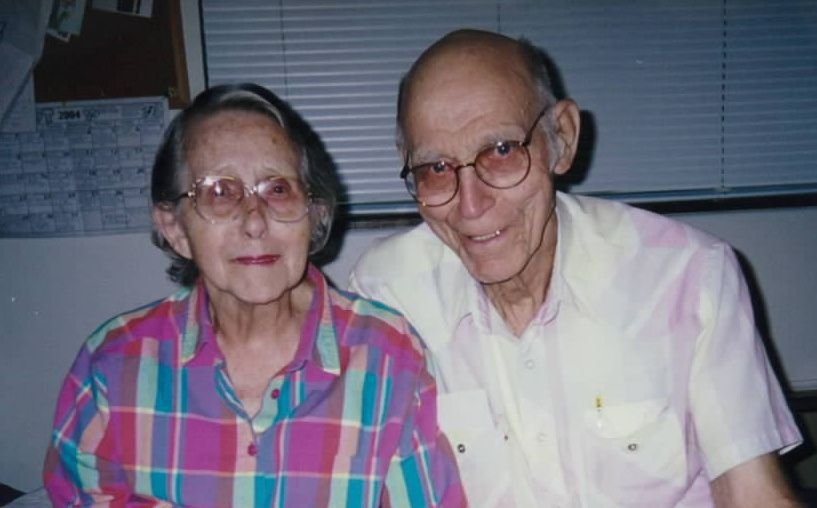Tim's Grandparents:  Eleanor and Chuck Cox