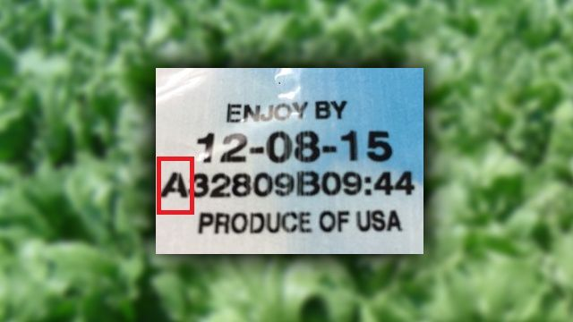 Dole Recall Package Code