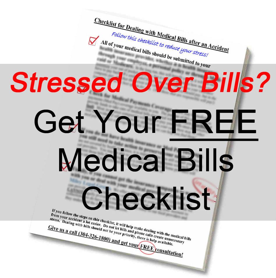 Stressed? Medical Bills Checklist