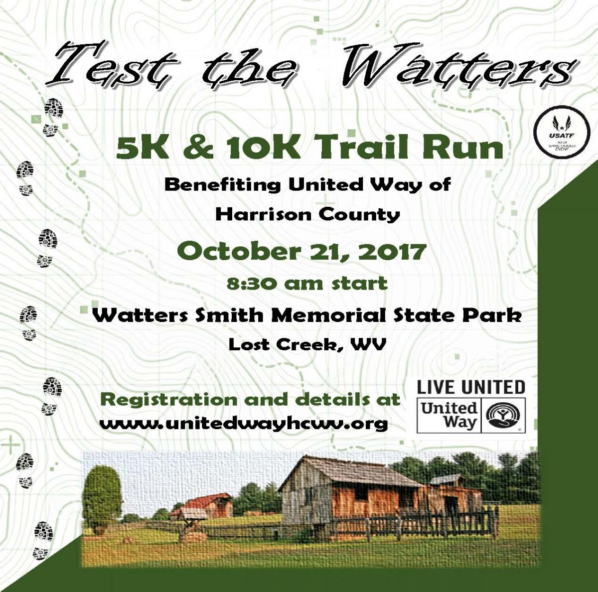 Test the Watters Trail Run