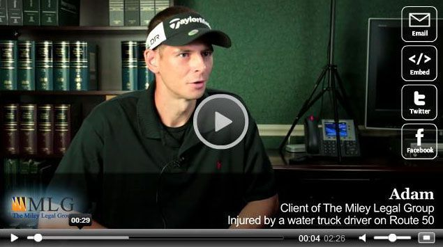 Water Truck Accident