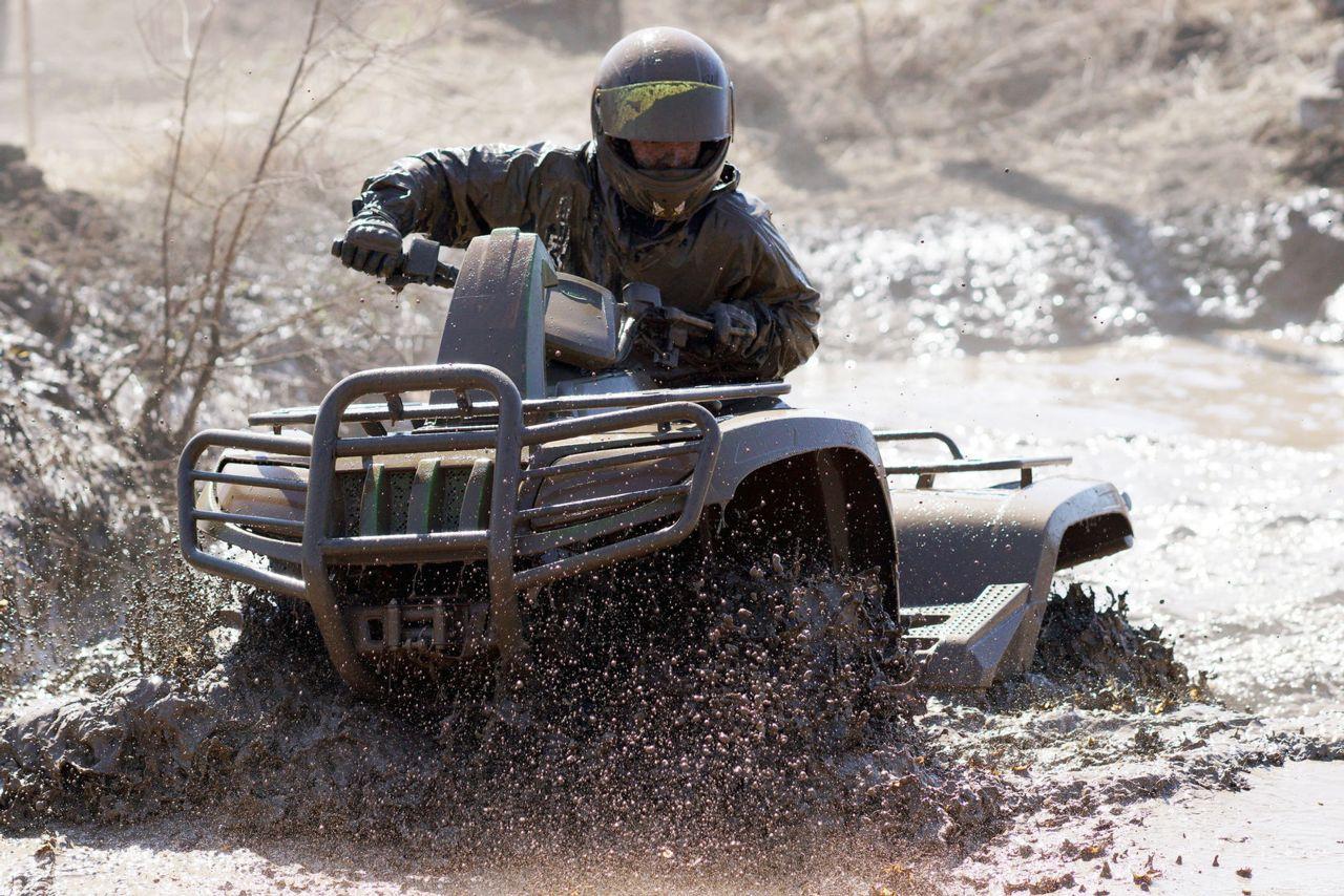 ATV Off Road Mud Puddle