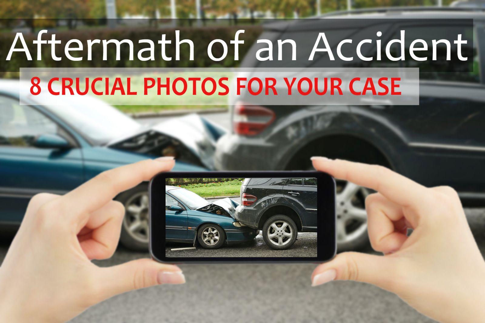 Photos after an accident