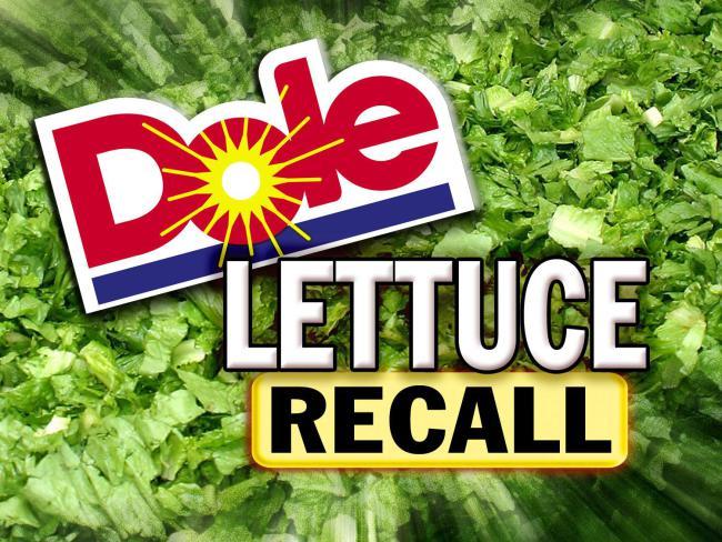Dole Salad Recall Listeria