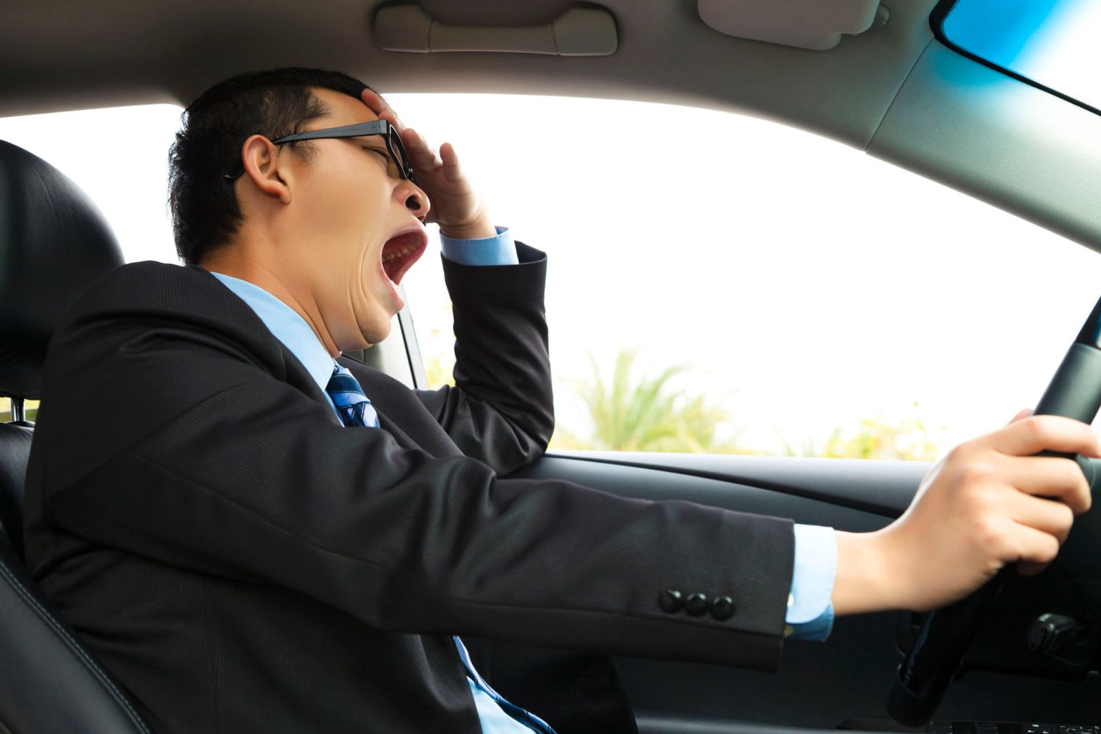 drowsy driving causes accidents