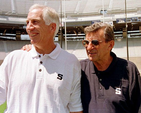 Sandusky and Paterno