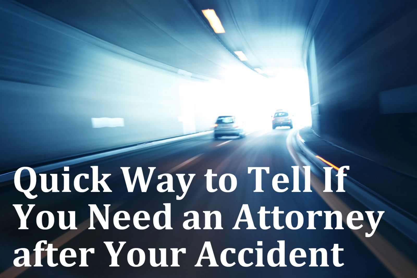 Quick ways to determine if you need a lawyer
