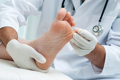 Athlete's foot can be grow especially well between the toes.