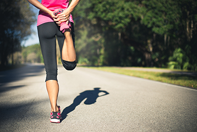 Warming up before a run can be more than a few quick stretches.
