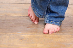 Yes, it can happen. Bunions on your child's feet