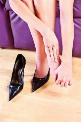 High heel pain in feet