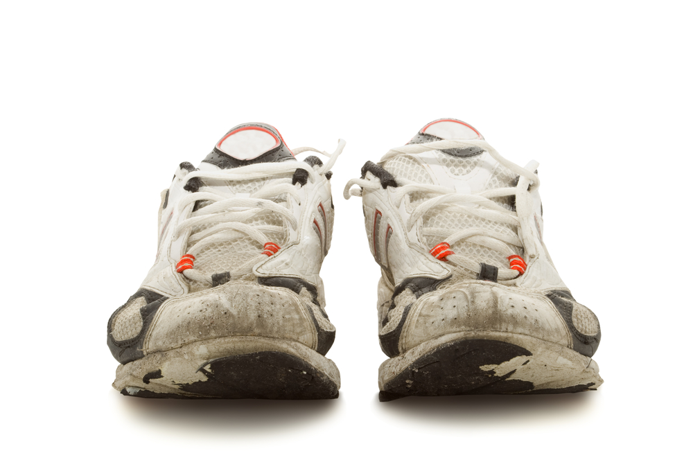Is it time for your old running shoes to hit the disposal pile?