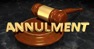 Choosing annulment over divorce
