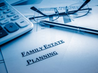Estate plans and community property agreements