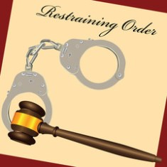 Restraining orders during a divorce