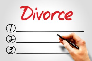 A checklist for divorce