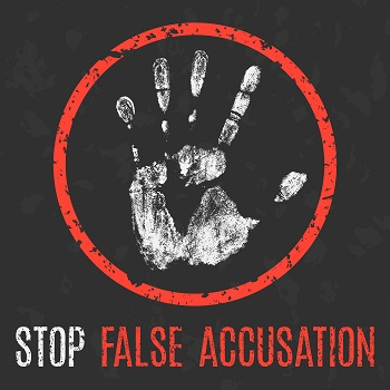 False domestic violence accusations
