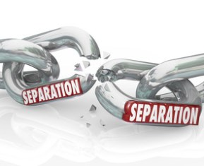 Filing for a legal separation