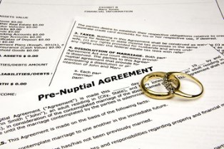 Invalid prenuptial agreements