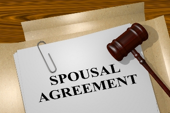 Spousal maintenance document