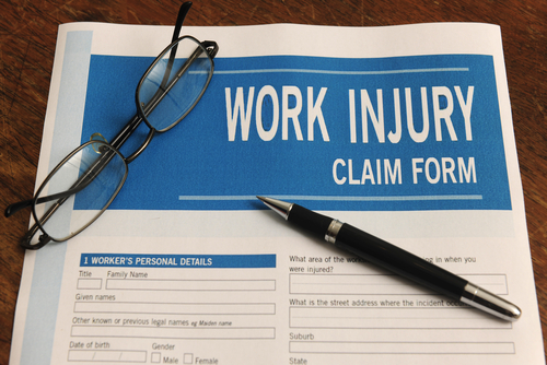 Ohio workers' compensation form