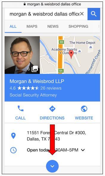Morgan & Weisbrod Google+ review
