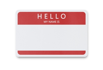 Hello My Name Is sticker