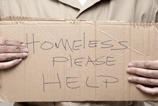 disability benefits for homeless people