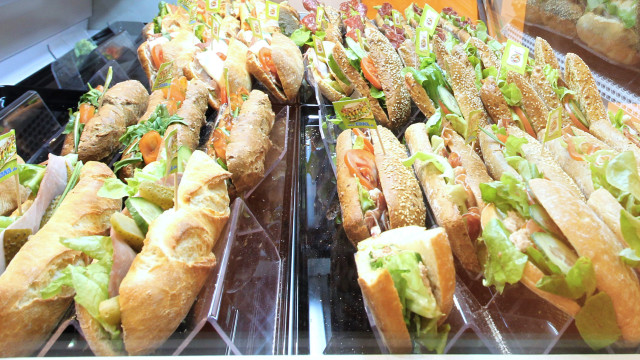 sandwiches made to break the world record