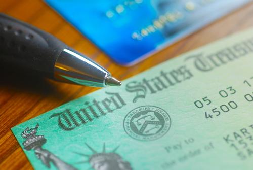 Social Security disability check