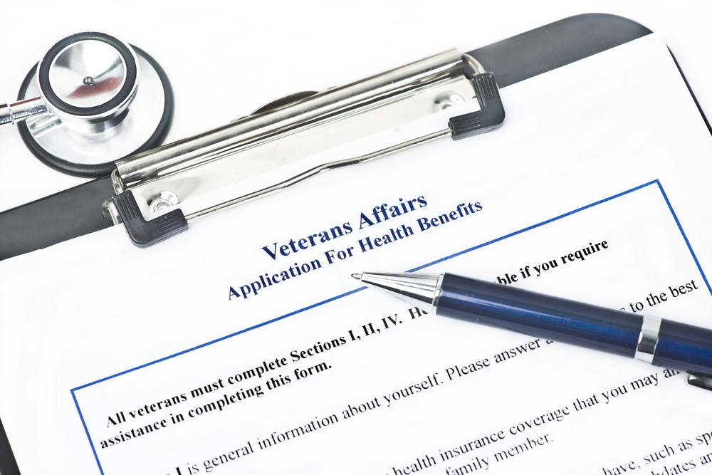 application for VA benefits