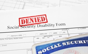 SSDI application denied