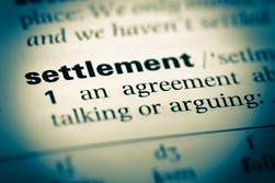 Definition of a Settlement From the Dictionary