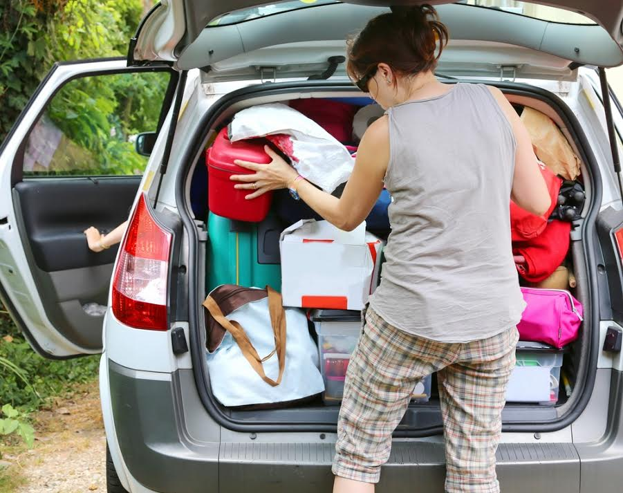car overloaded