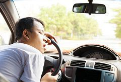 A drowsy driver can cause a catastrophic or deadly accident