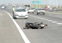 After a motorcycle accident, you can demand compensation from a negligent driver even if you lack insurance