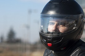 In Florida, most motorcycle riders are required to wear an approved helmet